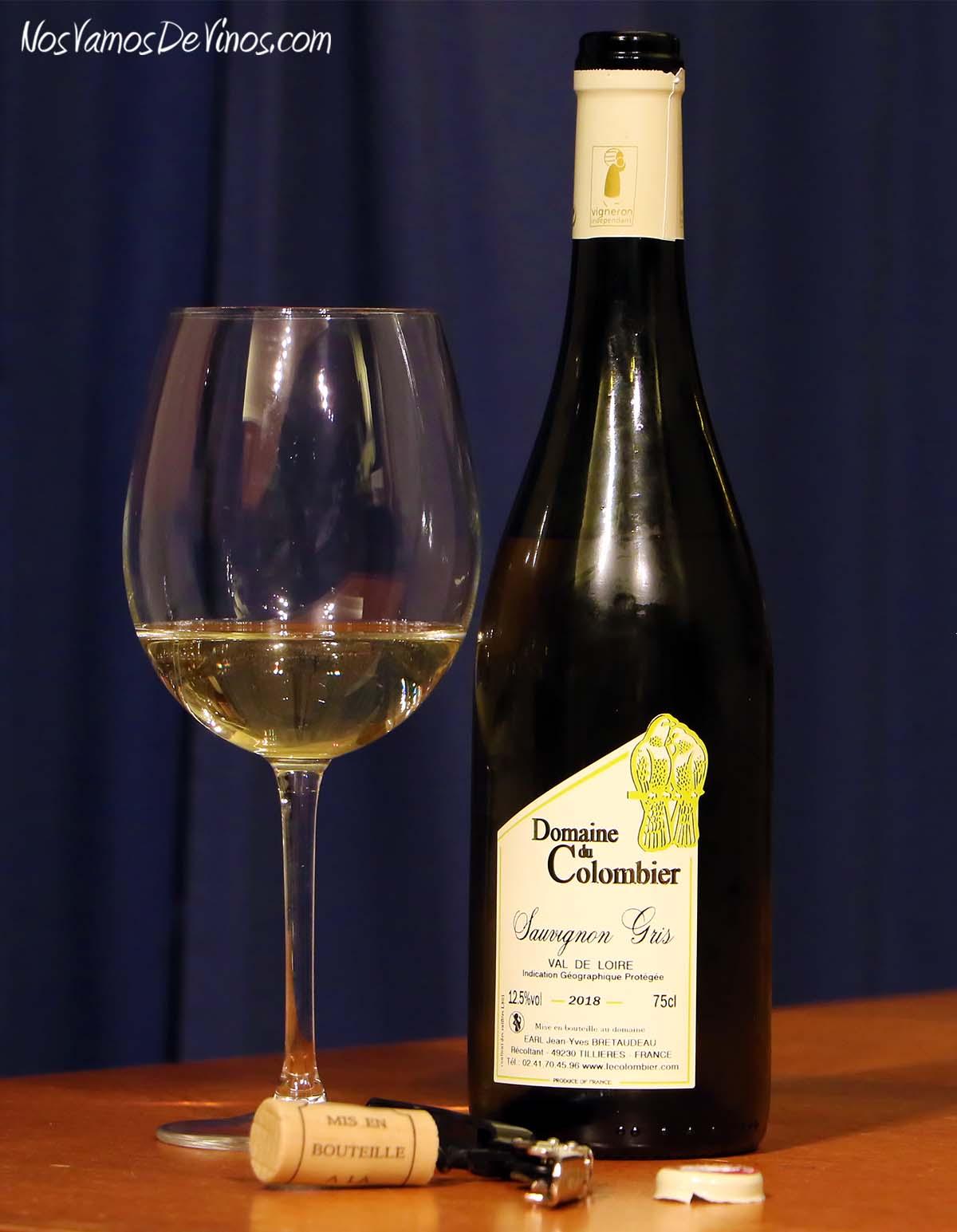 Domaine du Colombier Sauvignon Gris 2018