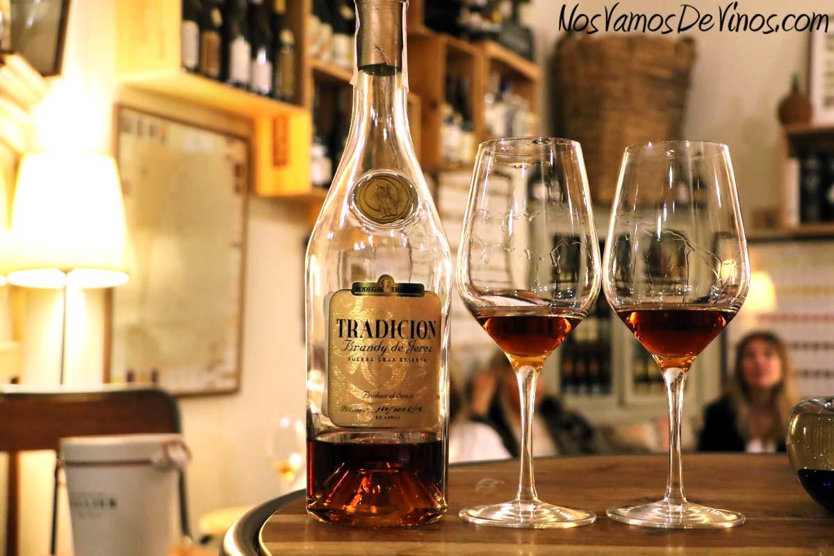 Brandy de Jerez Solera Gran Reserva Bodegas Tradición