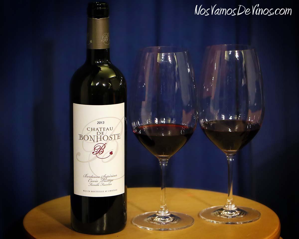 Château de Bonhoste Bordeaux Supérieur Cuvée Prestige 2013