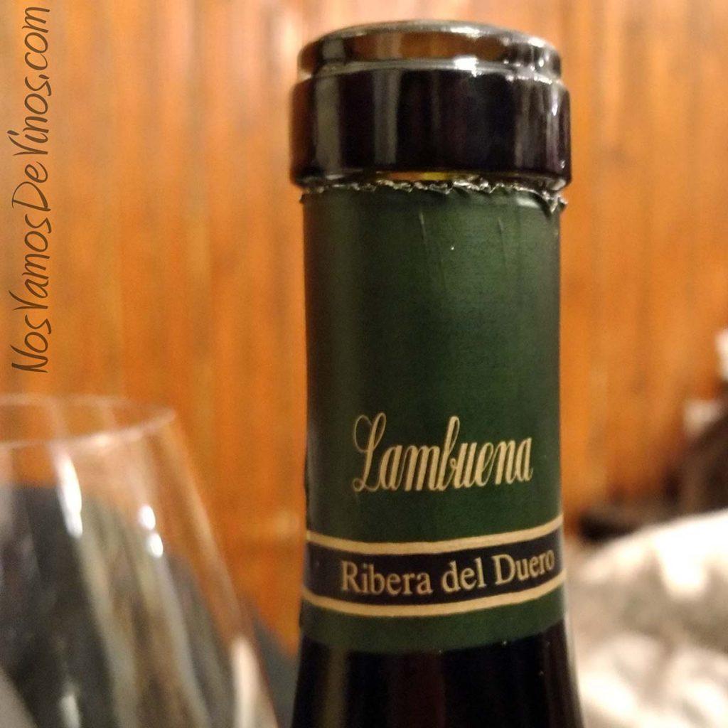 Lambuena Viñas Viejas 2014 Cápsula