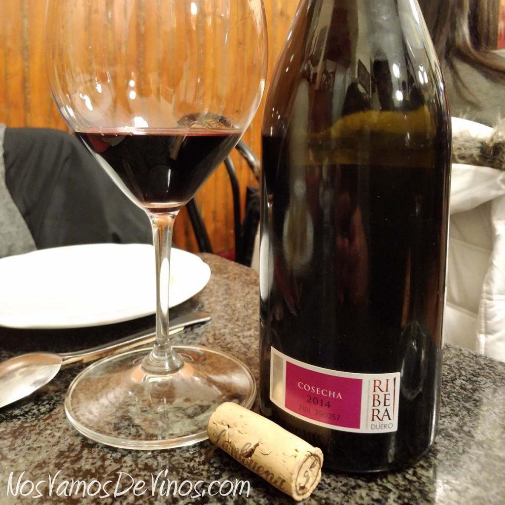 Lambuena Viñas Viejas 2014 etiqueta D.O.