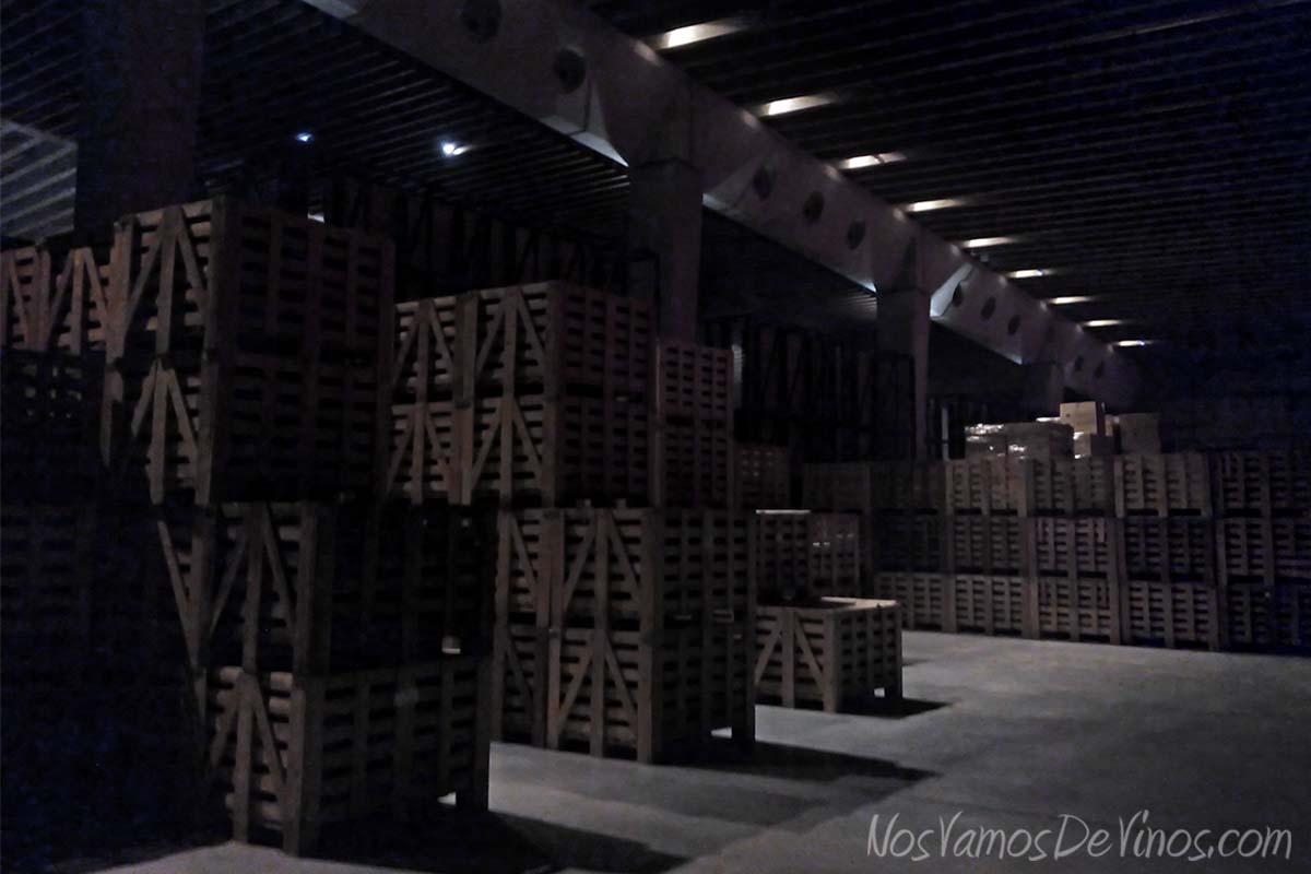 Portia. Botellereos de madera