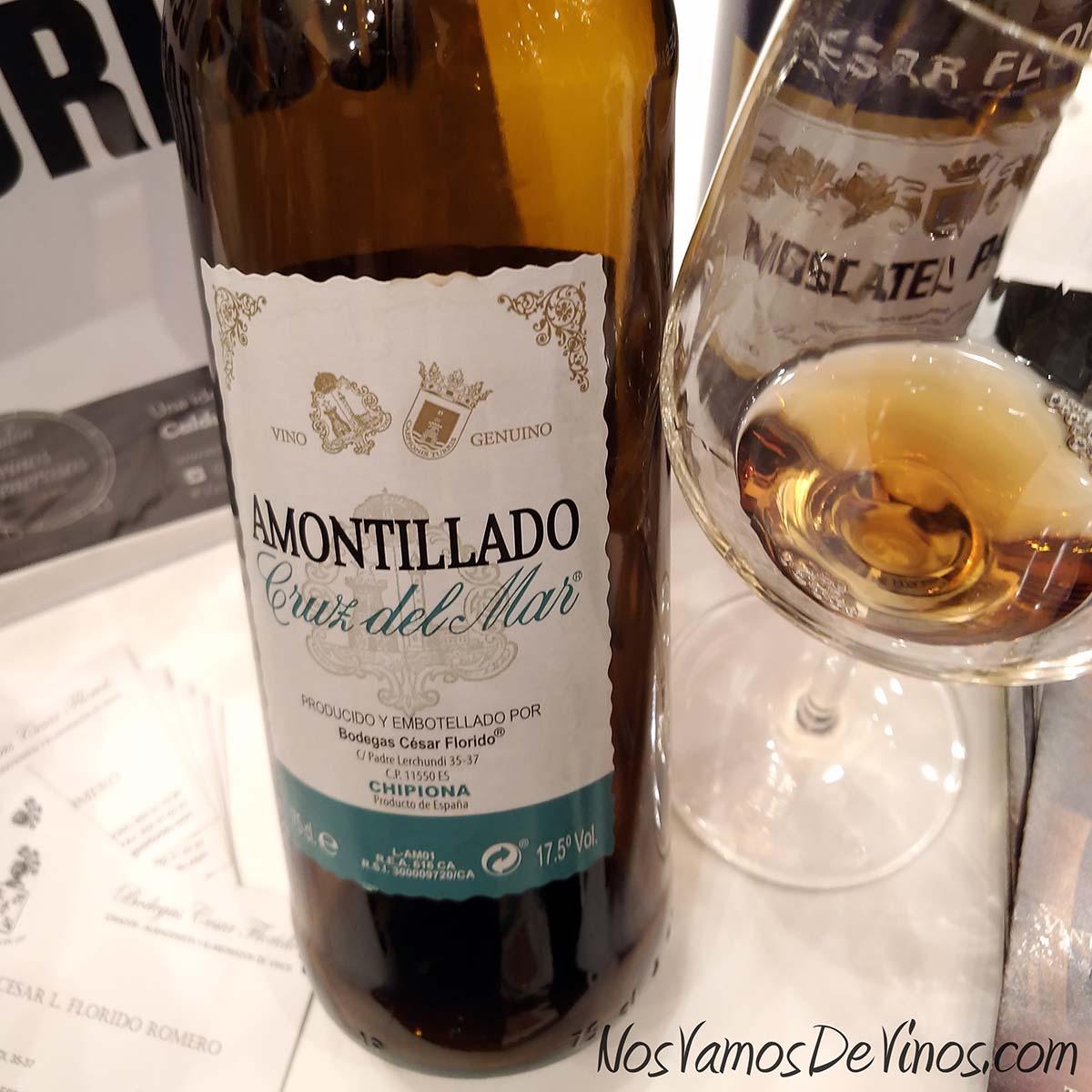 César Florido Amontillado Cruz del Mar V Salón de los Vinos Generosos