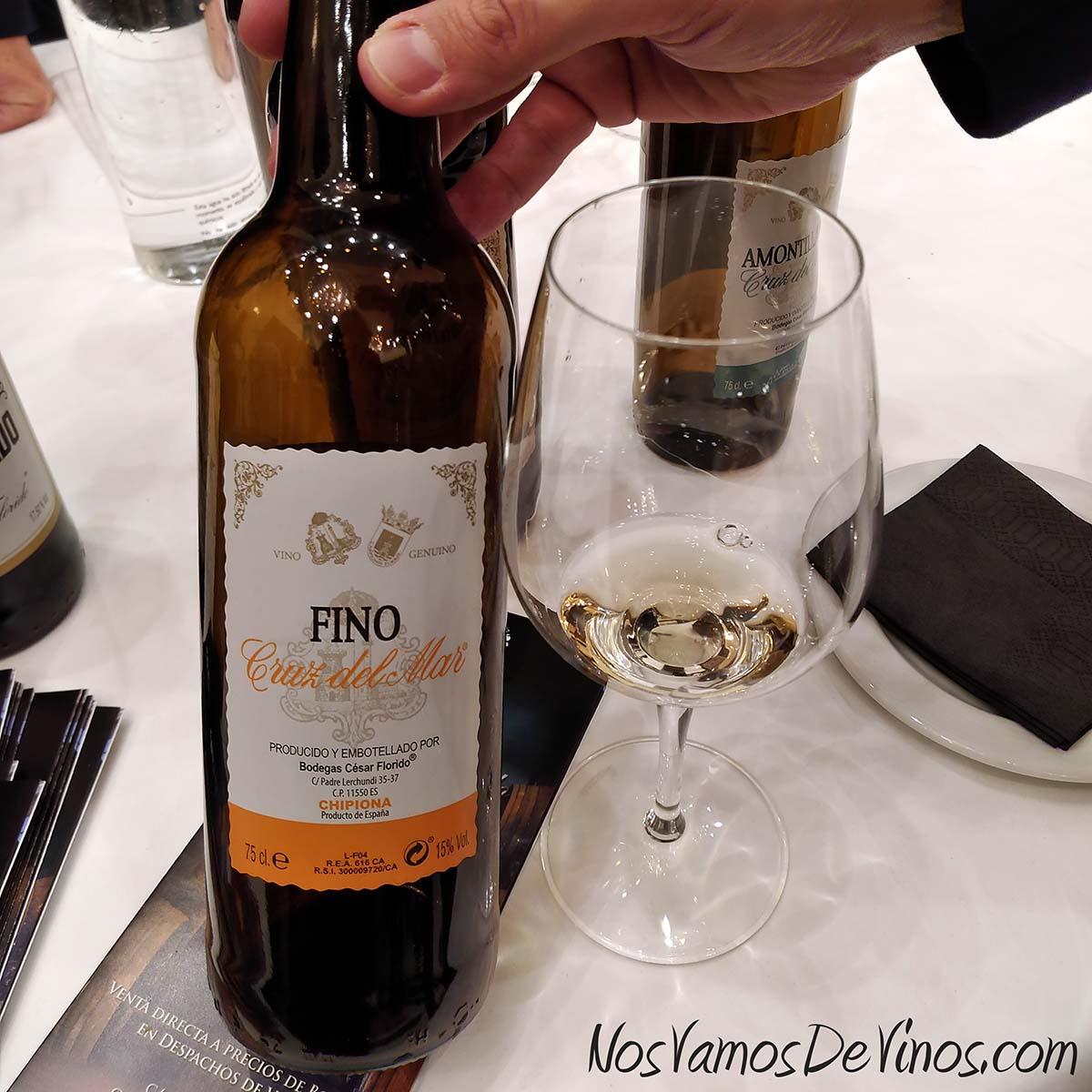 César Florido Fino Cruz del Mar V Salón de los Vinos Generosos