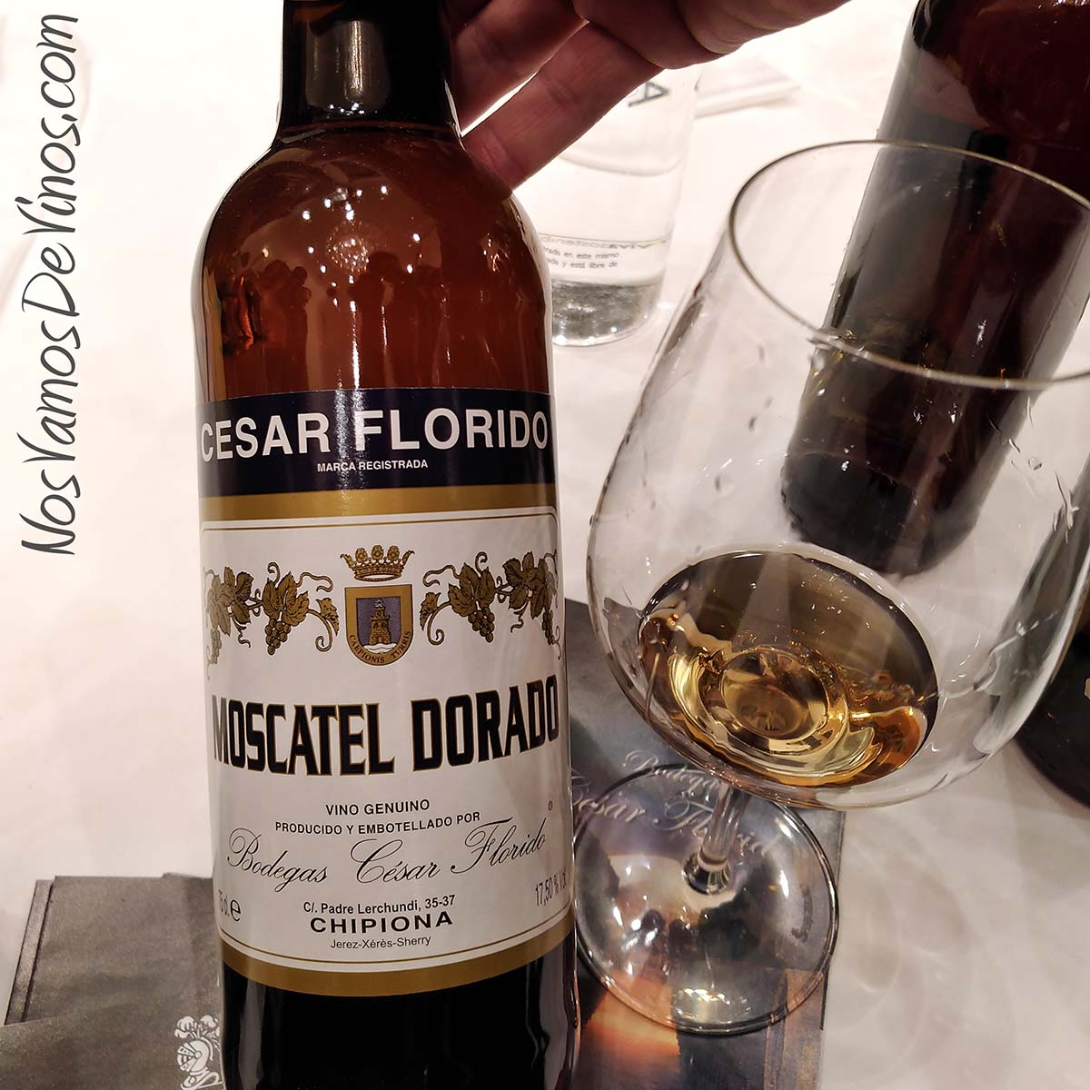 César Florido Moscatel Dorado V Salón de los Vinos Generosos
