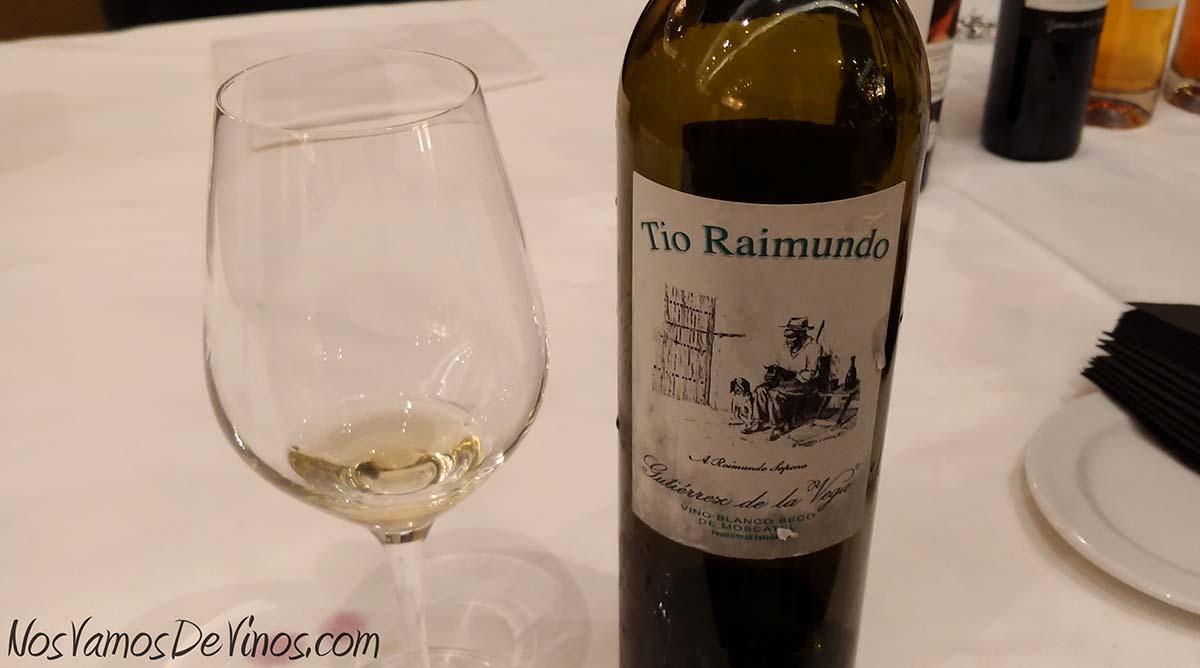 Gutiérrez de la Vega Tío Raimundo 2016 V Salón de los Vinos Generosos