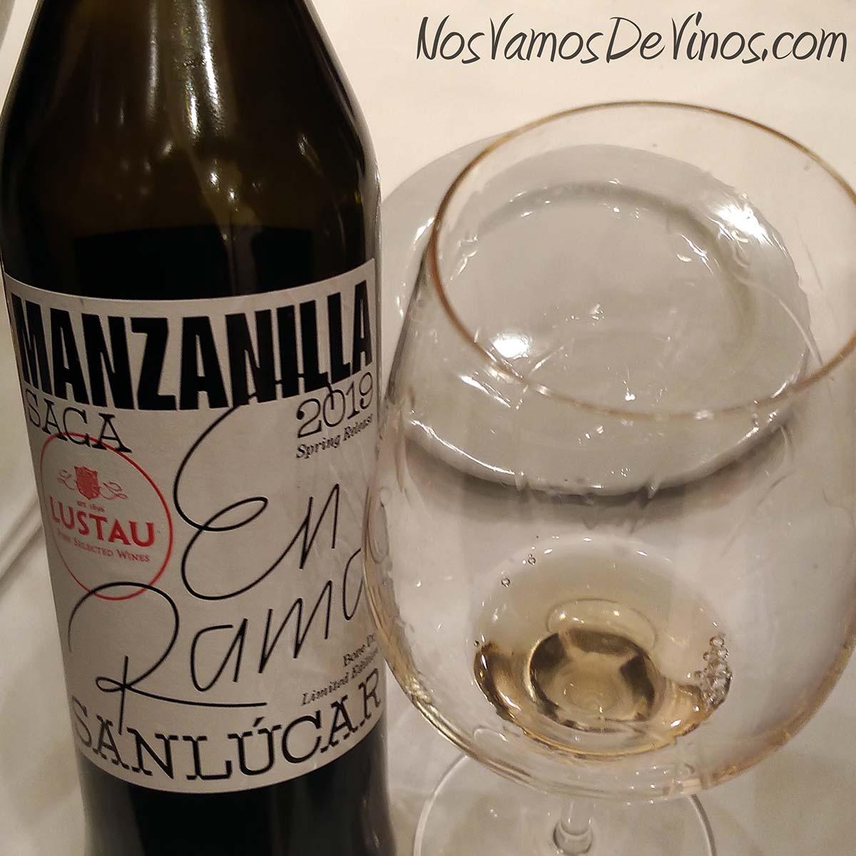 Lustau Manzanilla de Sanlúcar 3 en Rama Saca 2019 V Salón de los Vinos Generosos