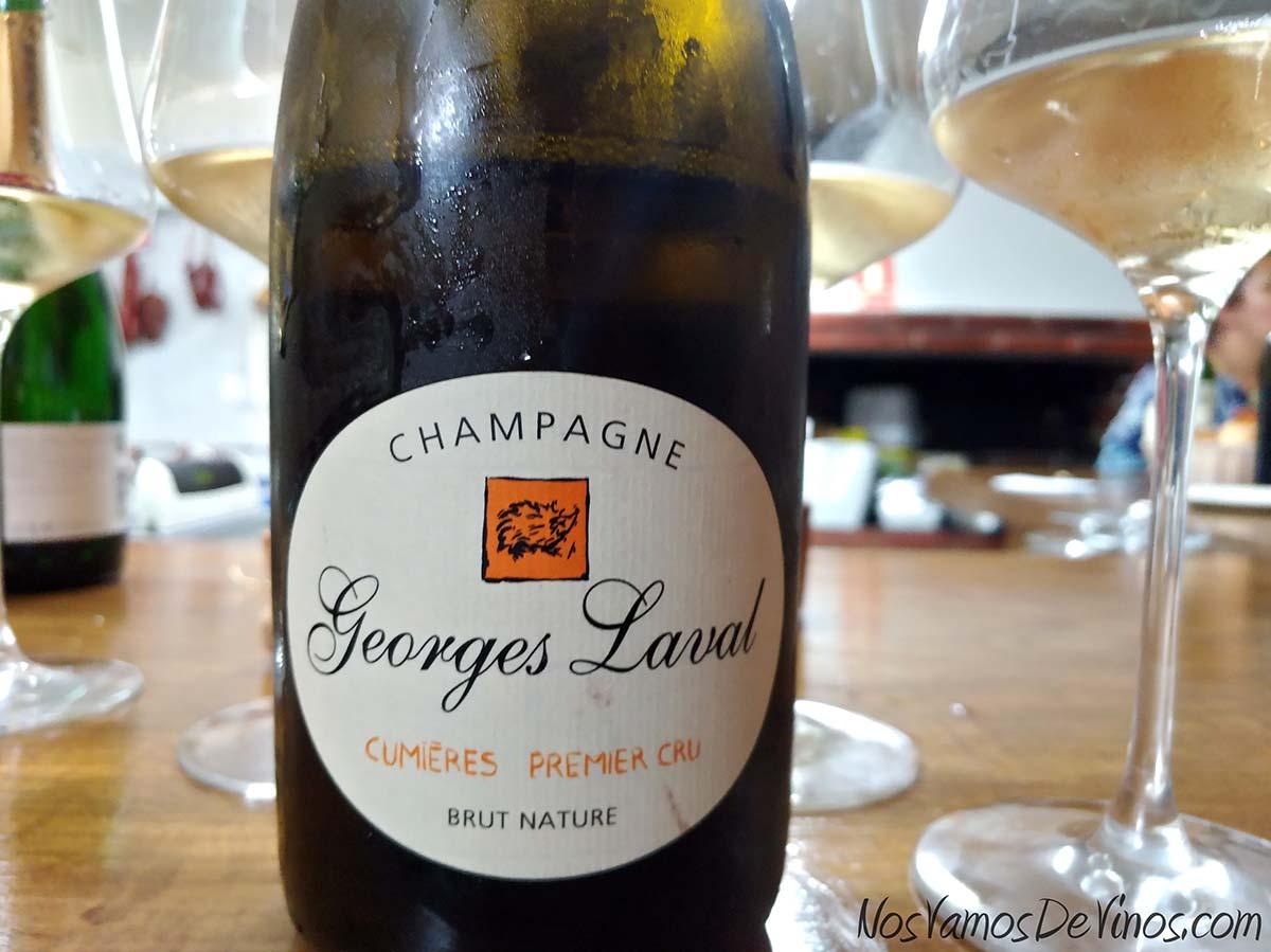 Champagne Georges Laval Cumières Premier Cru Etiqueta Frontal