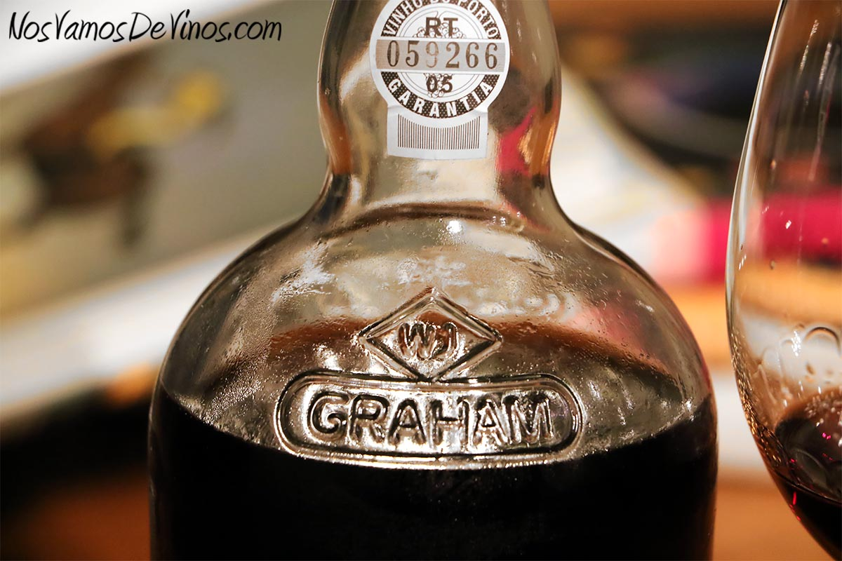 Graham's Tawny Port Aged 10 Years Detalle botella
