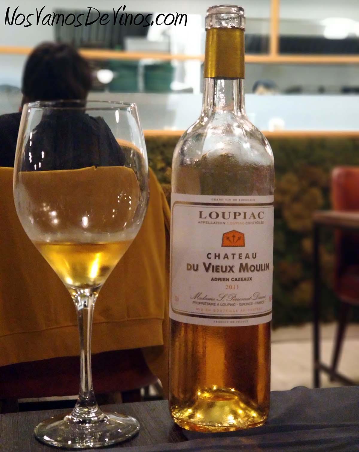 Chateau Du Vieux Moulin Loupiac 2011