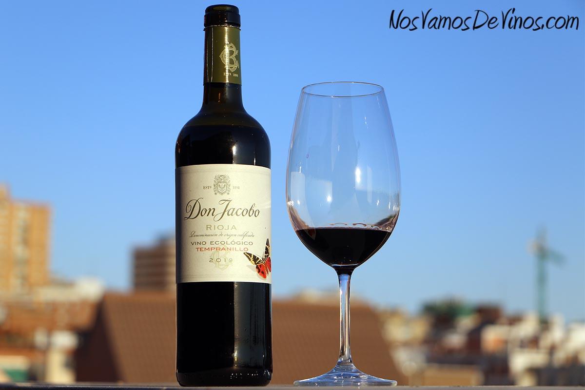 Don Jacobo Vino Ecológico Tempranillo 2019