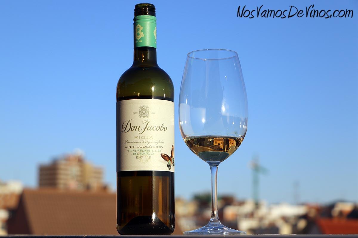Don Jacobo Vino Ecológico Tempranillo Blanco 2019