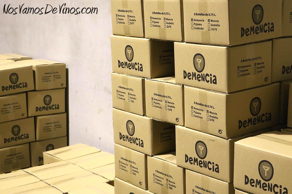 Cajas de Vino Demencia