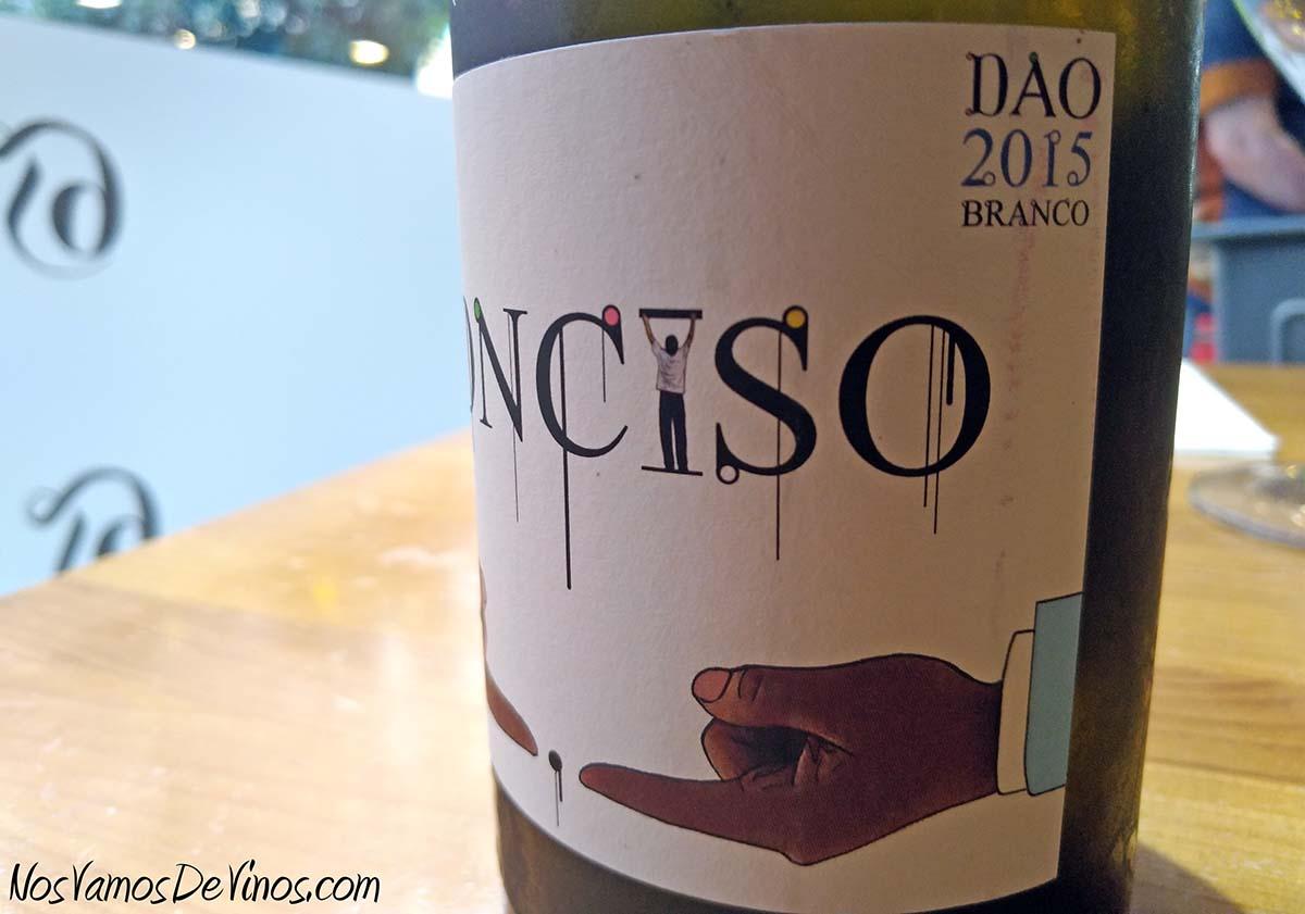 Niepoort Conciso Branco 2015 Detalle Etiqueta Lateral