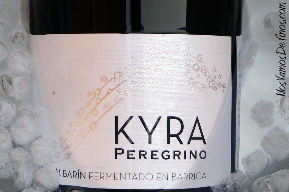 Kyra Peregrino Albarín Fermentado en Barrica 2017 Etiqueta