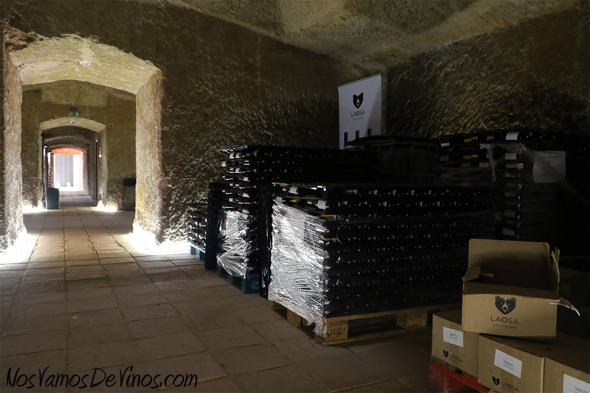 La Osa Vinos Bodega, Almacén y botellero