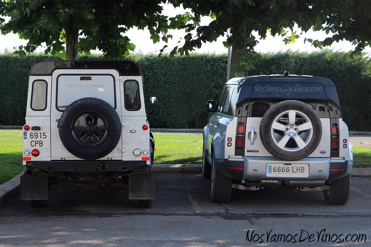 Bodegas Corral Land Rover