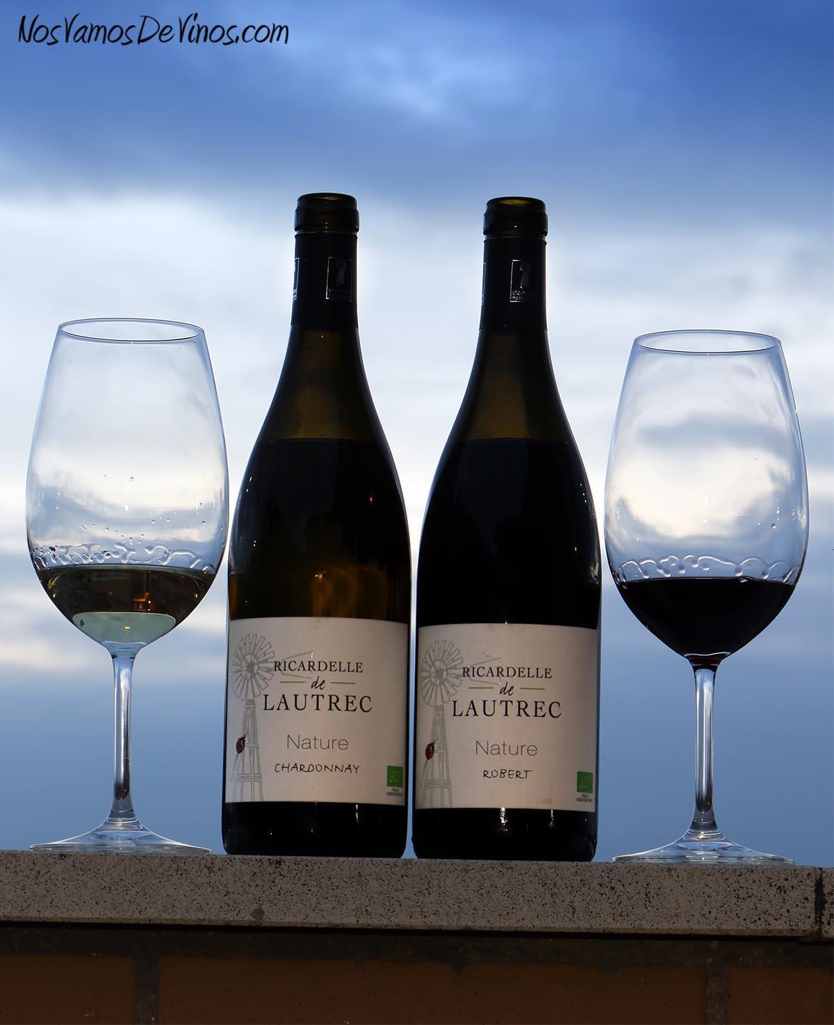 Ricardelle de Lautrec Nature Chardonnay 2019 y Robert 2019
