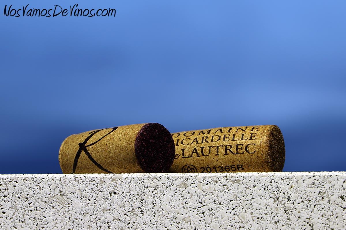 Ricardelle de Lautrec Nature Chardonnay 2019 y Robert 2019 Corchos