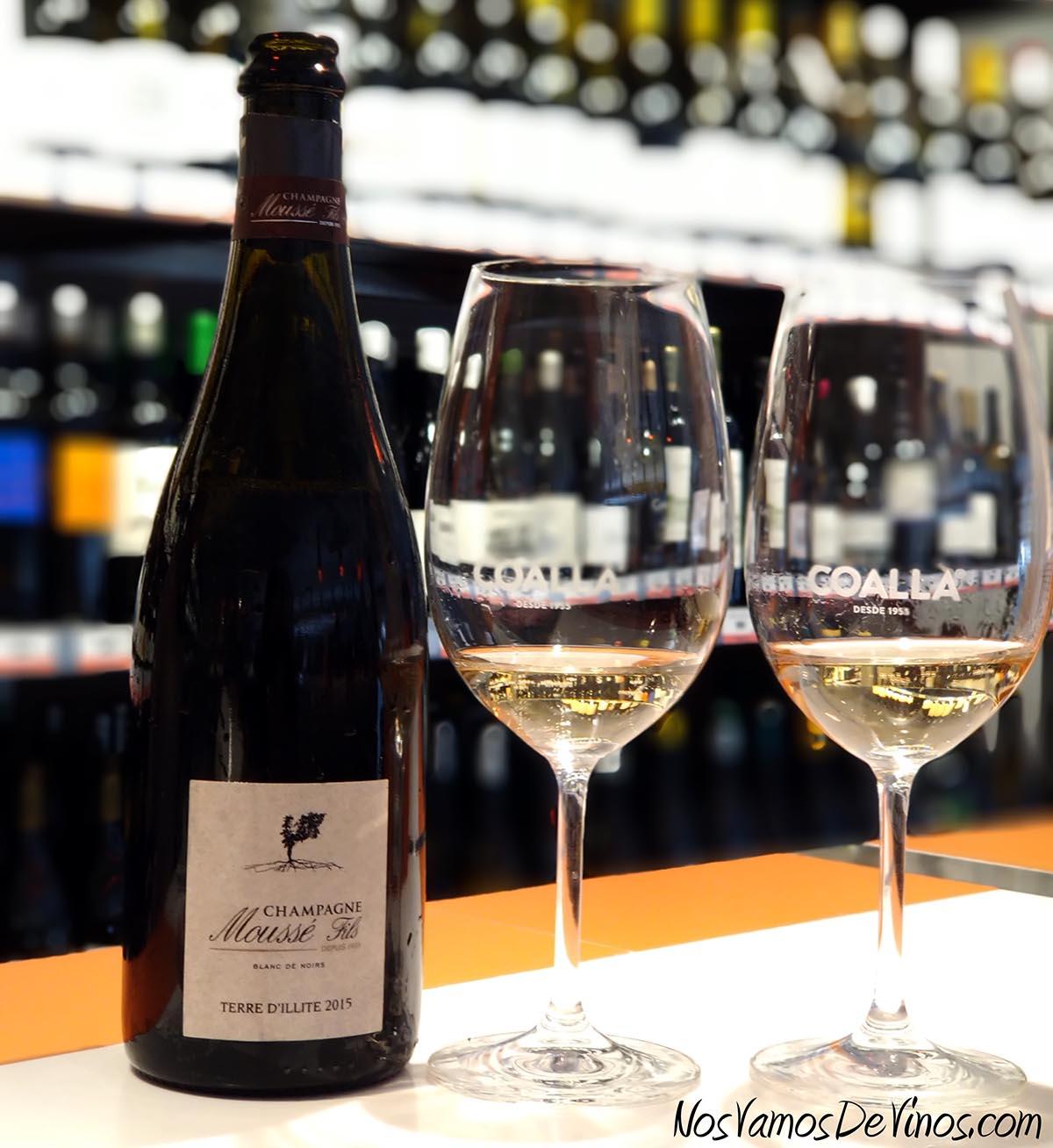 Champagne Moussé Fils Terre D'Illite 2015