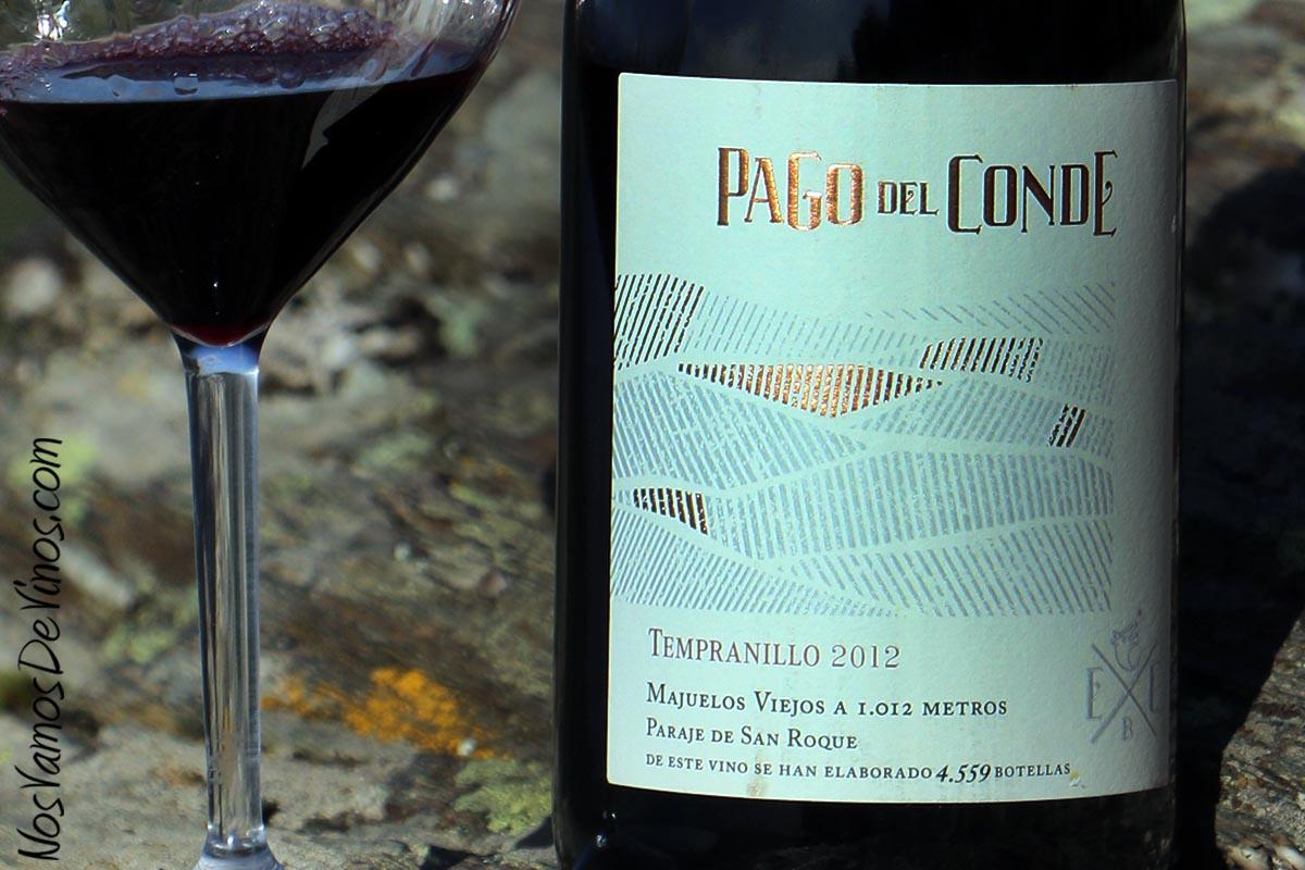 Paggo del Conde Tempranillo 2012 detalle etiqueta