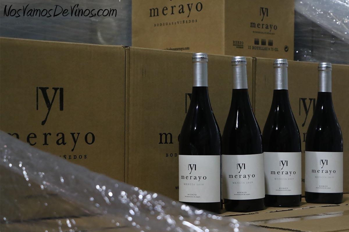 Merayo Mencía es el vino de mayor volumen de la bodega.