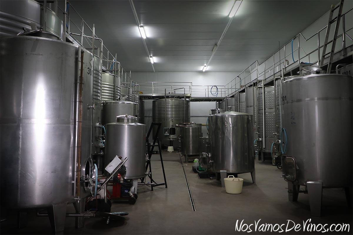Poco a poco, la producción de Merayo ha ido creciendo, y la sala de elaboración se ha quedado algo justa.