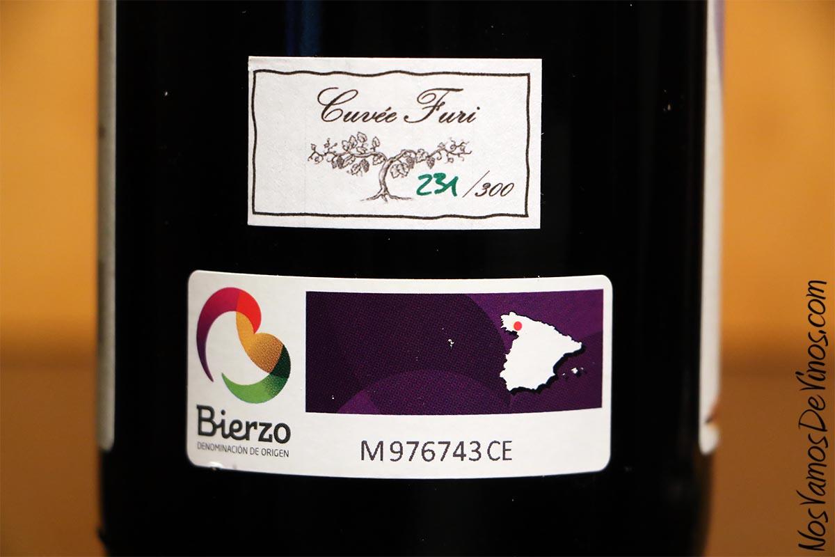 Cantariña 6 Merenzao 2019 Etiqueta D. O.
