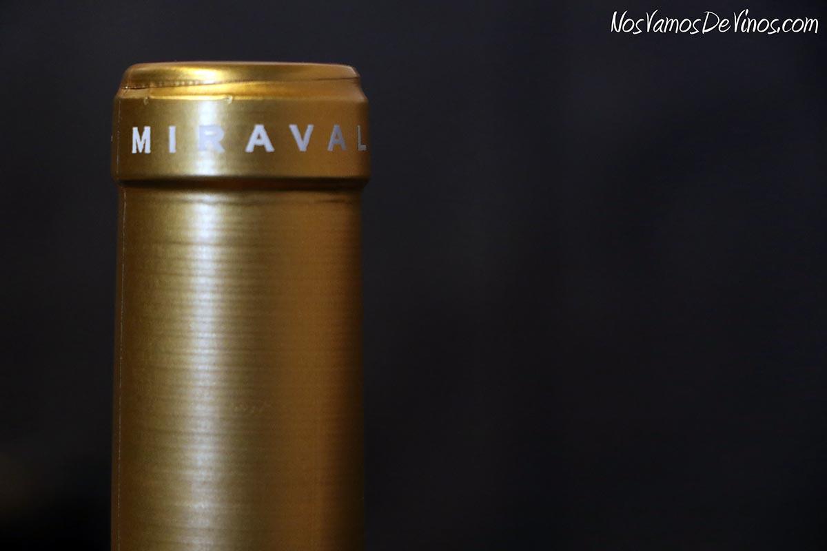Miraval Rosé 2019 Cuello botella