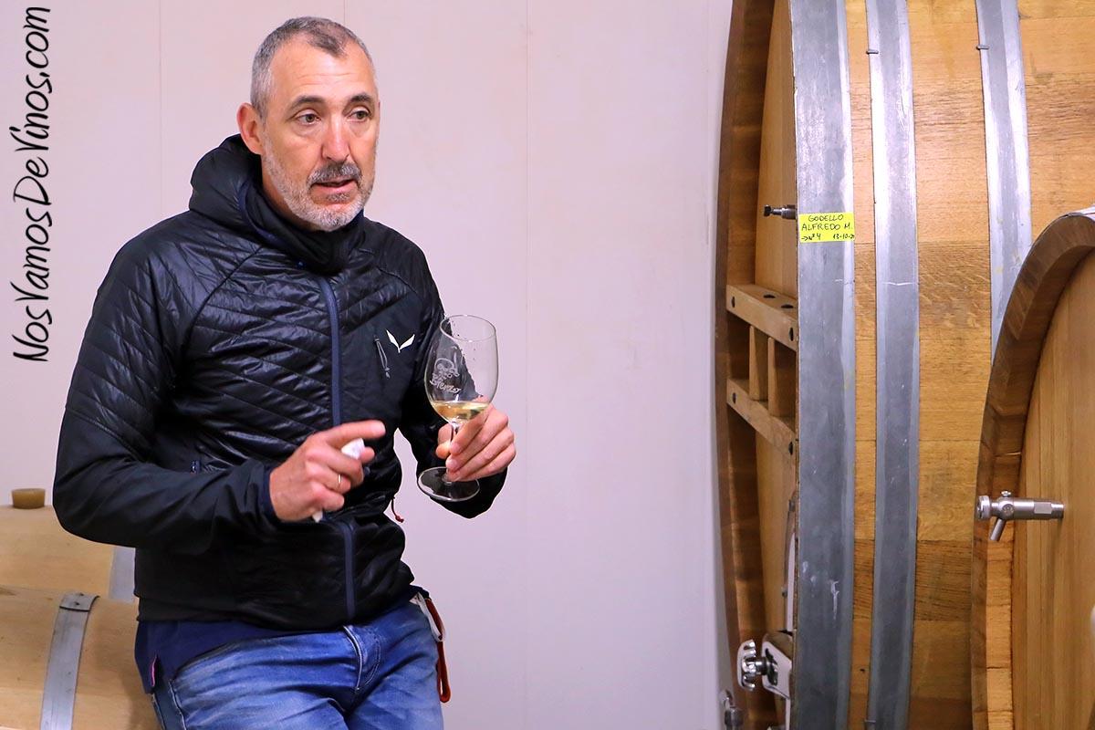 Encima Wines. Manuel Benito Otero
