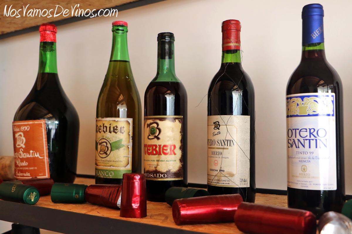 Encima Wines. Botellas antiguas