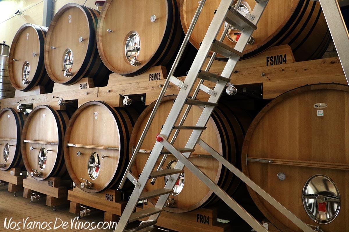 Encima Wines. Foudres de Emilio Moro