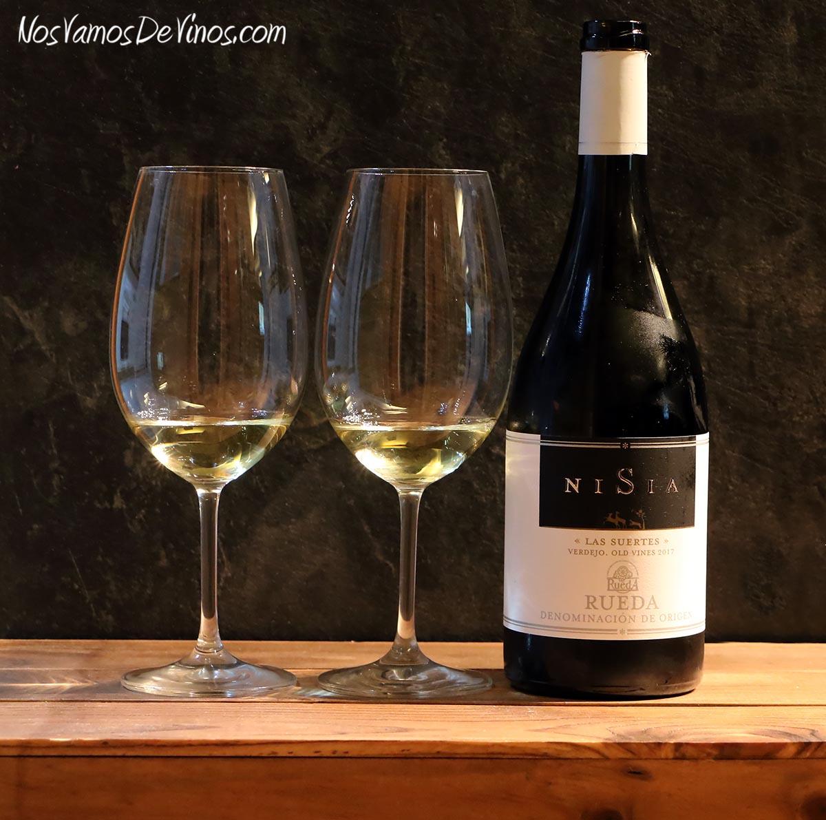 Nisia Las Suertes Verdejo Old Vines 2017