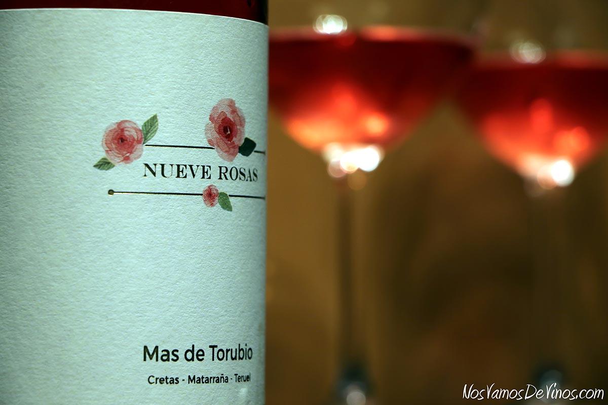 Nueve Rosas 2020 Detalle Etiqueta