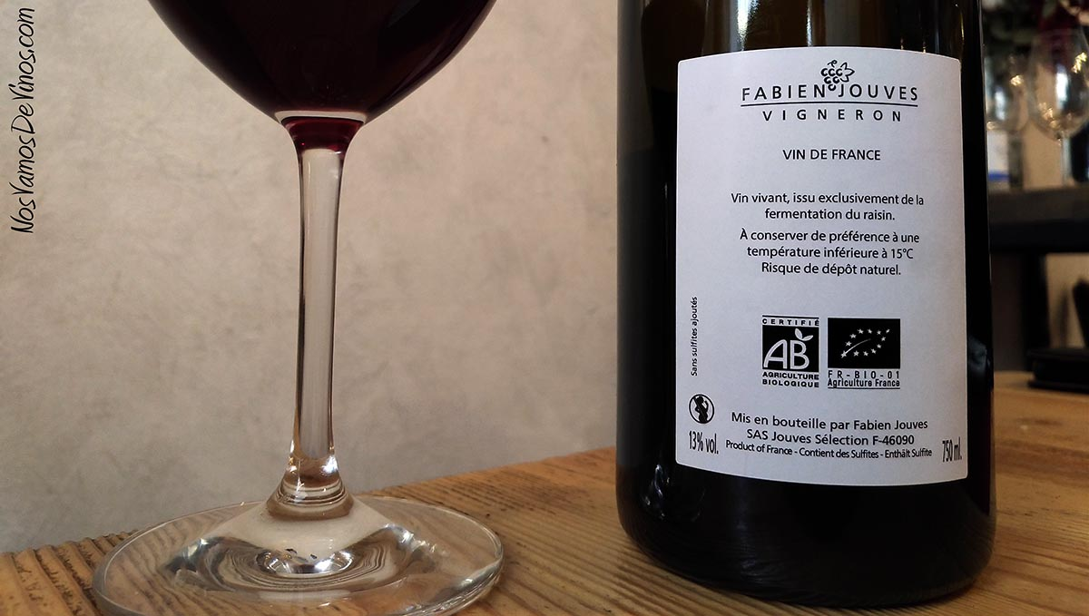 You Fuck My Wine 2019 Etiqueta Trasera