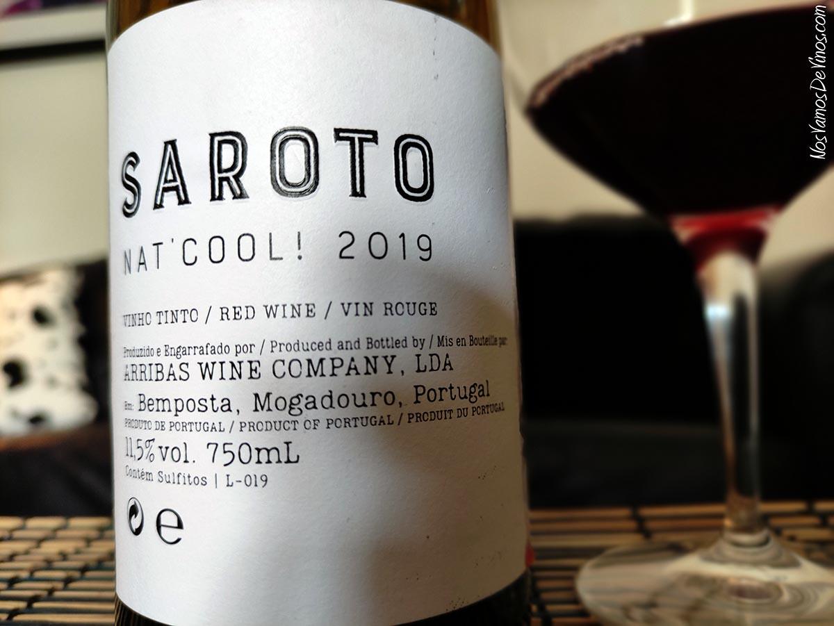 Saroto Nat Cool 2019 Detalle Etiqueta