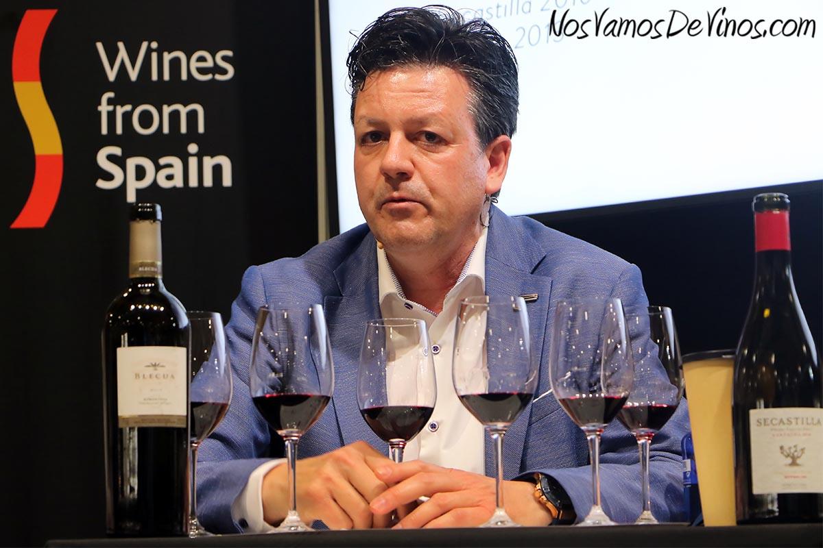 José Ferrer, enólogo de Viñas del Vero.