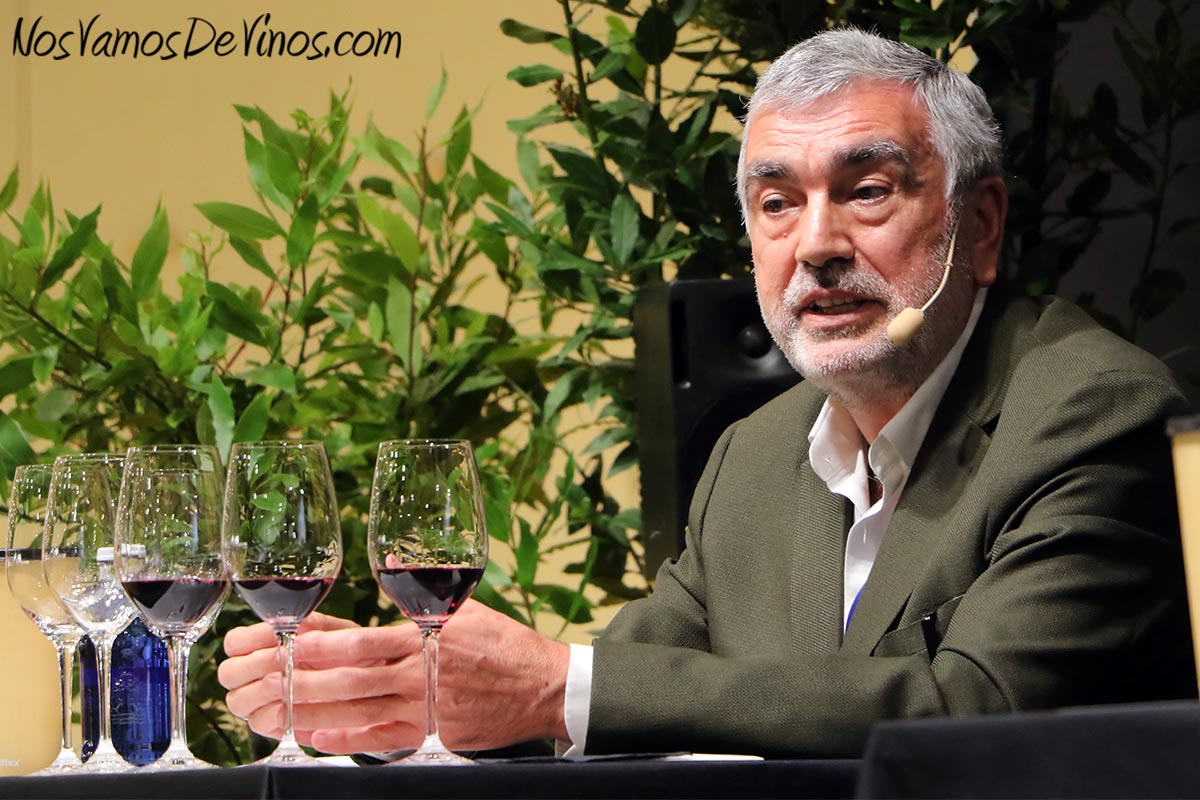 José Manuel Pinedo, Enólogo de Finca Moncloa.