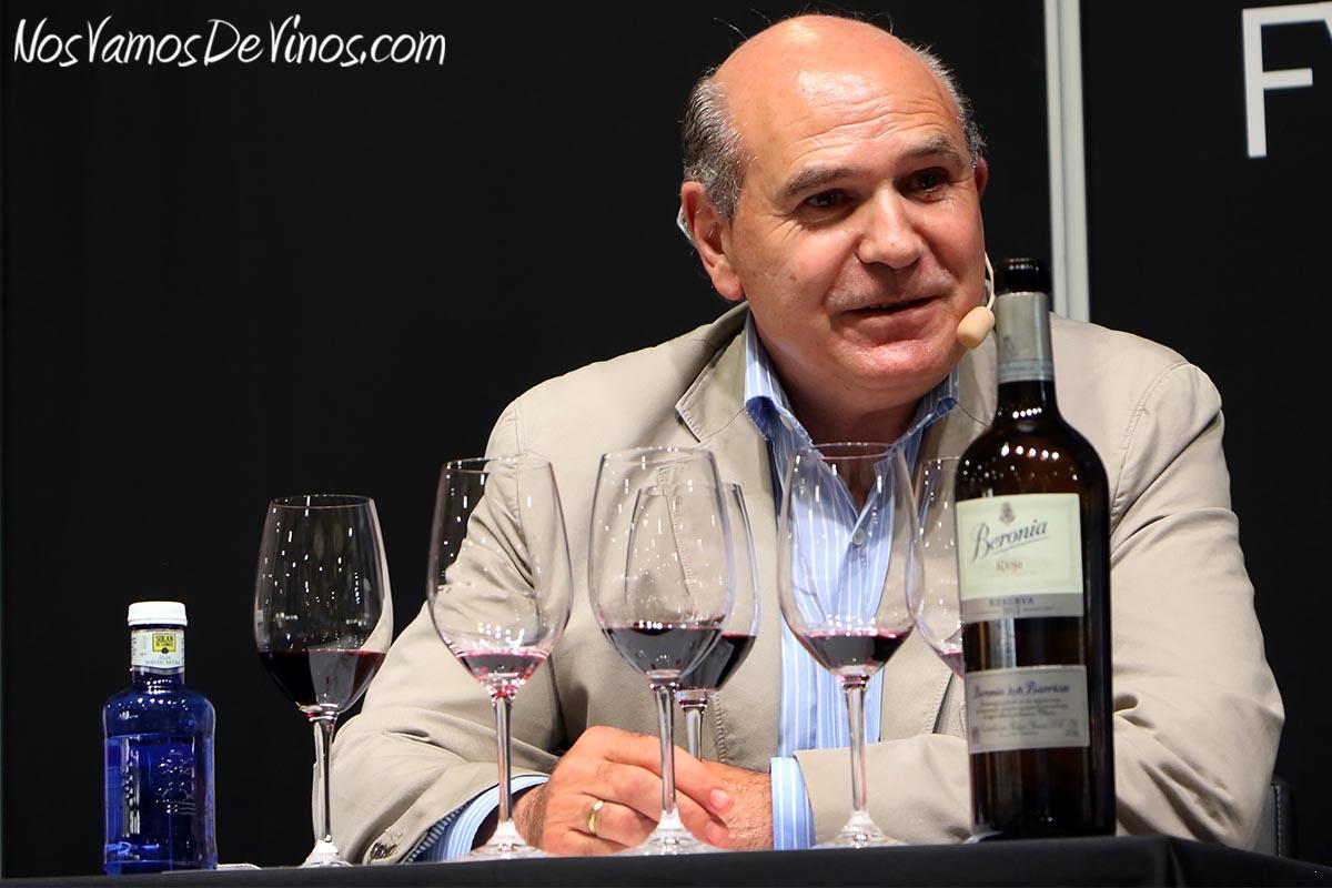 Matías Calleja, enólogo de Beronia.