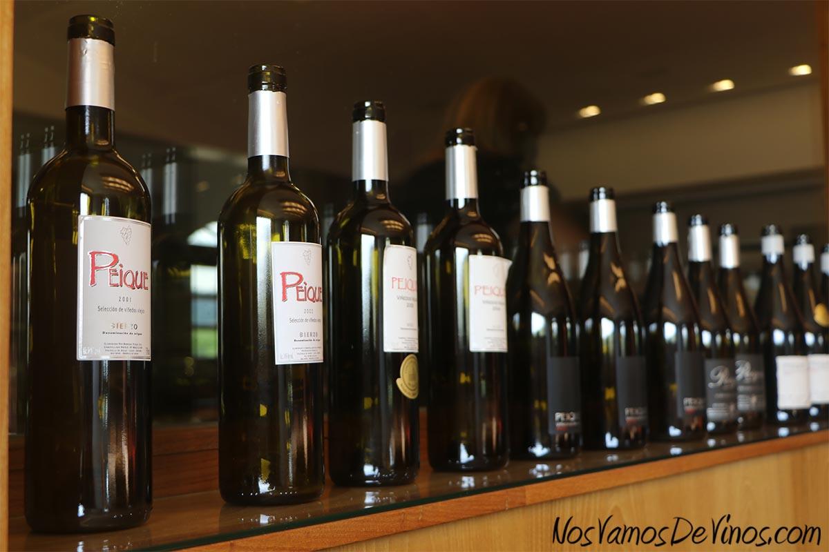 Antiguas botellas de Peique