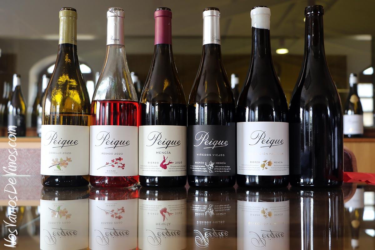 Cata de vinos Peique
