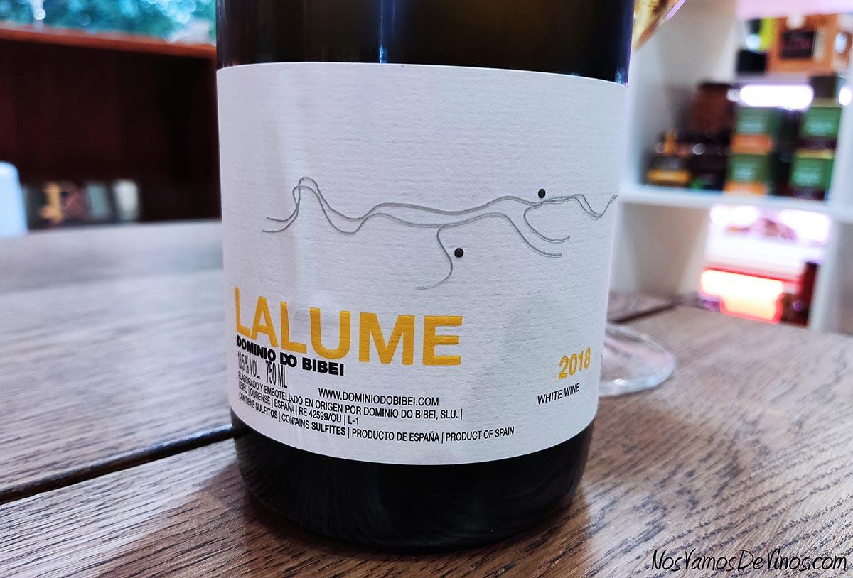 Lalume 2018 Detalle Etiqueta
