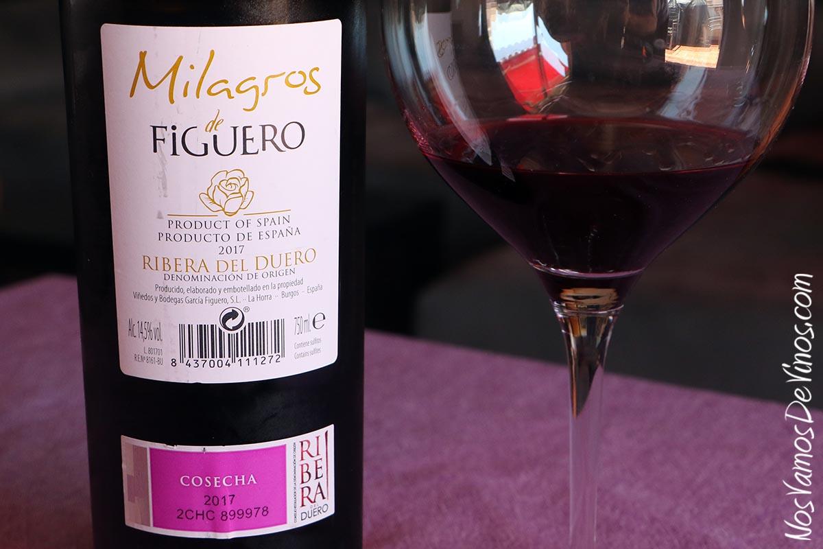 Milagros de Figuero 2017 Trasera