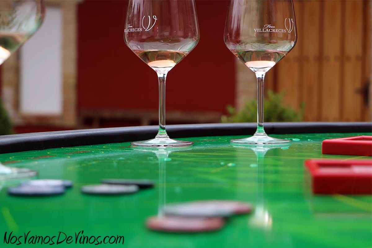 Día Pruno en Finca Villacreces. Juegos del vino